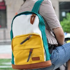 9d89db1bd3 Fashion New Womens Korean version Canvas Backpack Shoulder Bag Hot Sale