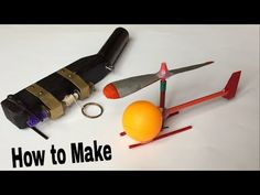 How to Make a Helicopter That Flies - Easy Way - Very Simple Helicopter - Tutorial - YouTube