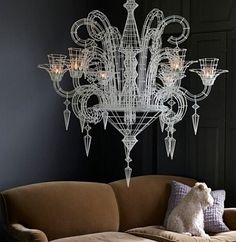 Chandeliers have become very trendy in home decor as they give that special look to interiors by adding a touch of sparkle and style. We have already come across some beautiful chandeliers, including dazzling Swarovski Chandeliers and the McHale's...