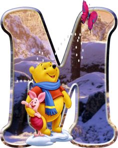 Winnie The Pooh Pictures, Winnie The Pooh Quotes, Winnie The Pooh Friends, Disney Letters, Cute Girl Wallpaper, Cute Disney Wallpaper, Hello Kitty Baby Shower, Alfabeto Disney, Daisy Party