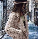 Мобильный LiveInternet Модный кардиган спицами узором «брумстик» | Марриэтта - Вдохновлялочка  Марриэтты |