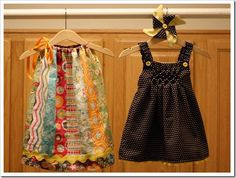 scrap dress, could be made up to size 10 easily.