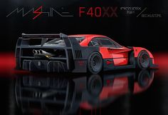 The Mashine F40XX. A for-fun concept F40 based on Ferrari's FXX program with a sci-fi twist. The F40 LM is my dream car, a perfect machine, so while this concept was fun to do, I sure couldn't condone it in real life! My car bro's @ashthorp and @the_kyza cooked up a rad F40 concept too, check it out! #Ferrari #F40 #mashine #conceptcar #beckkustoms #aaronbeck #joyofmachine
