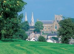 popularly known as the spiritual capital of Ireland - Armagh City, Ireland ... with history dating to the 5th century.