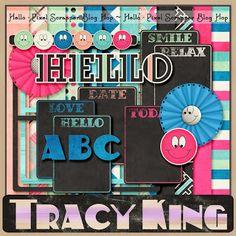 Wednesday's Guest Freebies ~ Tracy King  ✿ Follow the Free Digital Scrapbook board for daily freebies: https://www.pinterest.com/sherylcsjohnson/free-digital-scrapbook/ ✿ Visit GrannyEnchanted.Com for thousands of digital scrapbook freebies. ✿