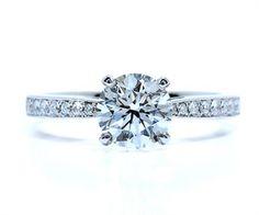 Jared 18K White Gold Carat tw Certified Diamond Ring Setting
