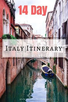 Best Time To Visit Italy 2020 The Best Two Week Italy Itinerary | 2020 | Italy travel, Italy