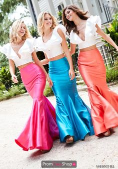 29a4acf7e186 Sherri Hill Long Two Piece Dress 52747
