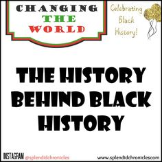 Black History Month is a valuable tool that allows the children of the future to understand the countries past: the Good the Bad and the ugly. Black History month should be viewed as a celebration of individuals who changed the world despite an oppressive state.