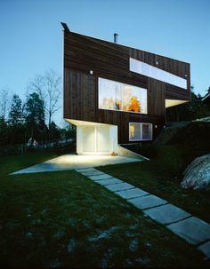 Triangle House / Jarmund-Vigsnaes Architects / Noruega #architecture