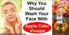 Washing your face with Apple Cider Vinegar has amazing health benefits. Find here how you can use ACV for beautiful skin (WITHOUT spending money on cosmetic products that are full of chemicals).