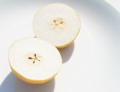 pear cutting #Asian #pear #fruit  about fruit