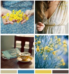 Mood Board: A Beautiful morning - really love these colors....and pictures.