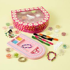 Kids Jewelry Making Kit @The Land of Nod: By Nod For You. -Sale $34.95