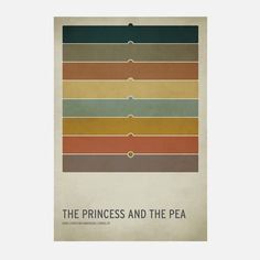 The Princess And The Pea Poster A2