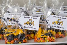 Construction Truck Birthday Party - Home and Hallow Digger Birthday Parties, 4th Birthday Party For Boys, Tractor Birthday, Third Birthday, Birthday Party Favors, Birthday Ideas, Construction Theme Cake, Construction Birthday Parties, Khalid