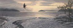 Lyman, Stephen (b,1957)- Northcountry Shore -2b
