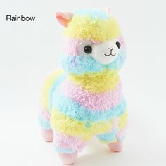 picture of Alpacasso Rainbow Alpaca Plush (Big) 2