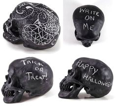 Chalkboard Skull, Chalk Board Prop, Chalkboard Decor, Halloween Art, Anatomy Decor, Medical Model on Etsy, $28.74 AUD