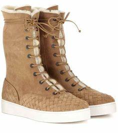 Suede boots | Bottega Veneta