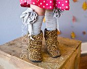 Carnation Legwarmers leg warmers Snugars Winter Collection baby infant newborn toddler girls