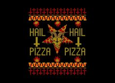 HAIL PIZZA Design by Collin James Diederich