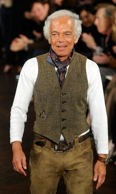 Fashion designer Ralph Lauren