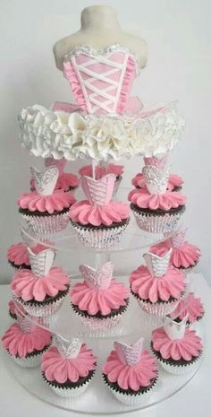 tutu cake & cupcakes