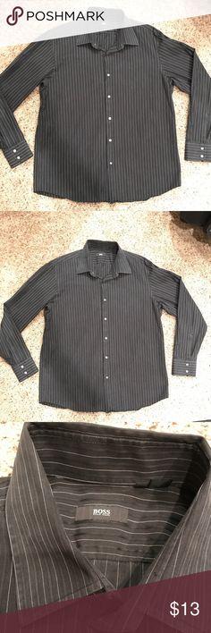 484ee869d Hugo Boss Men's Long Sleeves shirt 17.5 / 34-35 Like New conditions. Men's