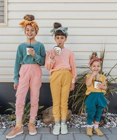 This is the best sibling matching, ever! - My favorite children's fashion list Baby Outfits, Outfits Niños, Kids Outfits Girls, Baby Girl Fashion, Toddler Fashion, Kids Fashion, Fashion 2020, Kids Clothing Brands, Children Clothing