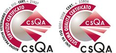 La nostra struttura ha la certificazione ISO 9001:2008 e la certificazione ANMVI BPV che gode del patrocinio della FNOVI e del Ministero della Salute