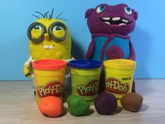 Go ahead and mix Play-Doh colors to create your own shades. Watch how: https://youtu.be/8y5OdOxVPN8