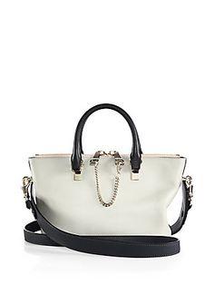 Chloé Baylee Mini Bicolor Shoulder Bag $1555 -s