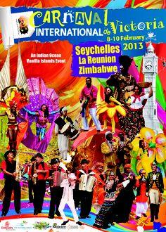 Carnaval International de Victoria 2013 Official Poster
