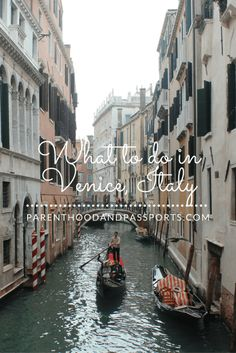 The ultimate guide to Venice, Italy with our without children. Must-see attractions and what to do in 2-3 days in #venice #italy