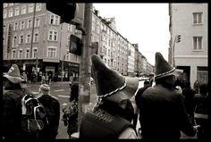 Traditional Bavarian hats during Oktoberfest