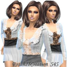 Sims 4 CC's - The Best: Clothing by Sims Dentelle