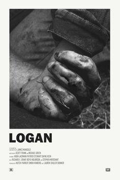 Logan alternative movie posters celebrating the. Iconic Movie Posters, Minimal Movie Posters, Minimal Poster, Cinema Posters, Iconic Movies, Film Posters, Poster Wall, Poster Prints, Film Poster Design