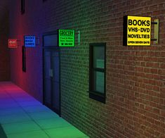 Mod The Sims - Illuminated Shop Signs