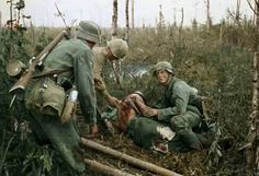 WW2 in Color - The Battle of Wolchow (Volkhov) near Lake Ladoga (Leningrad) in July 1943.