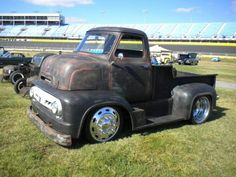 Old school rat rod truck