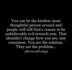 You are the solution. They are the problem. ✨