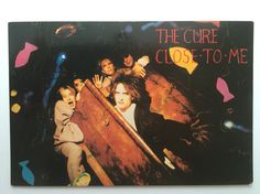 The Cure - Close to me (postcard from my private collection)