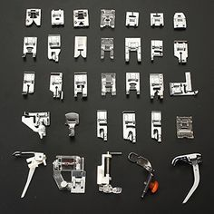 Achieve incredible results with this presser feet guide. Learn how pressing feet can save you time and how can you use them for decorative details.