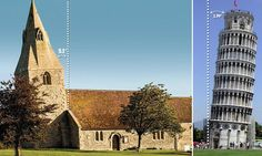 Preserving the leaning tower of Dry Doddington #DailyMail