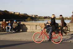 Lovely Red Bicycle