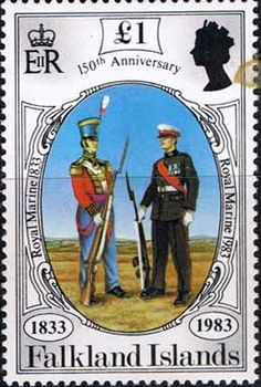 Falkland Islands 1983 150th Anniversary of British Administration SG 448 Fine Mint    SG 448 Scott 369    Condition  Fine MNHOnly one post charge