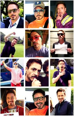 """Robert Downey Jr. - during filming of """"Avengers: The Age of Ultron,"""" 2014"""