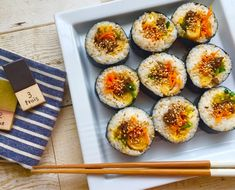 How Cooking Turkey Product Sushi Recipes, Asian Recipes, Healthy Recipes, Party Recipes, Healthy Cooking, Cooking Recipes, Vegetable Appetizers, How To Cook Rice, Japanese Dishes