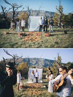 YolanCris |Bohemian wedding inspiration. A bridal fashion editorial that show us the original boho chic style
